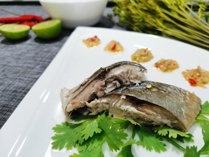 ปลาสำลีเผา(ด้วยหม้ออบลมร้อน)